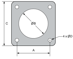 Emi conductive silicone gaskets for bases