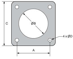 Juntas de silicona conductiva emi para bases