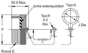 Tapón Conector aéreo