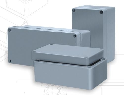 Cajas de aluminio